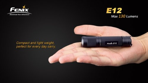 Fenix e12 led compact flashlight