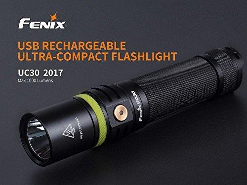 Fenix UC30 usb rechargeable