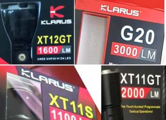 Top rated Klarus Flashlight list