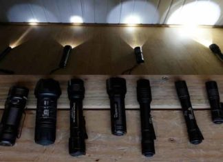 Top 10 flashlight comparison chart